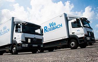 Willi Rossbach Möbeltransporte GmbH - Bild 1