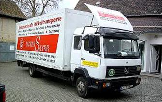 Dieter Sayer Möbeltransporte In- und Ausland - Bild 3