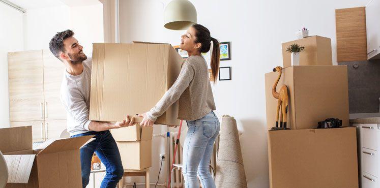 Umziehen in die erste gemeinsame Wohnung - umzuege.de